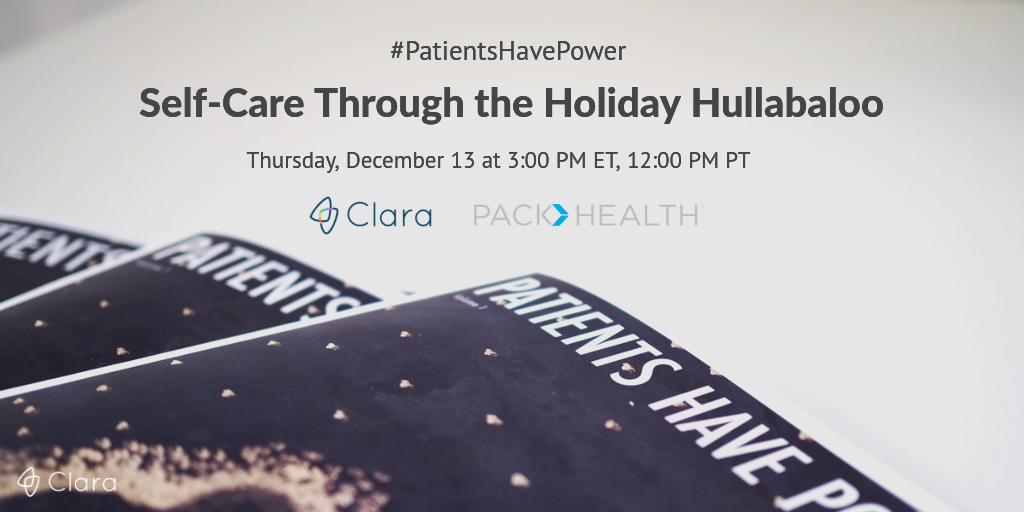 holiday twitter chat